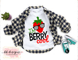 Berry Cool Tee | Strawberry Shirt