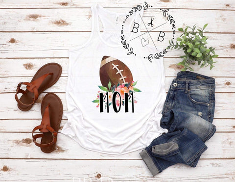 Football Mom Tank | Sports Design