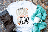 Let Your Faith Be Bigger Than Your Fears Kids Tee | Thanksgiving Design