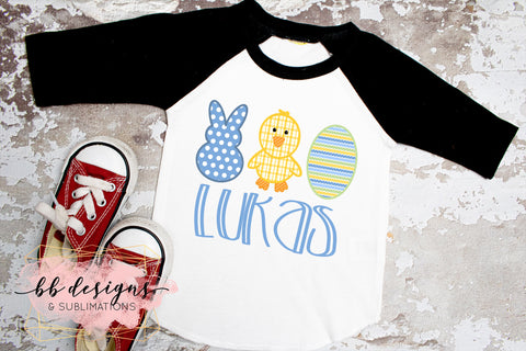 Boy Easter shirt | Personalized Tee