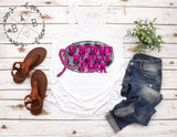 We Wear Pink Kids Tee | Breast Cancer Awareness Design