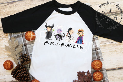 Villain Friends Tee | Girl Villain Shirt