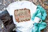 Autumn Breeze & Pumpkins, Please Adult Tee | Thanksgiving Design