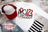 ABC 123 Mommy Loves Me Tee | Valentines Shirt