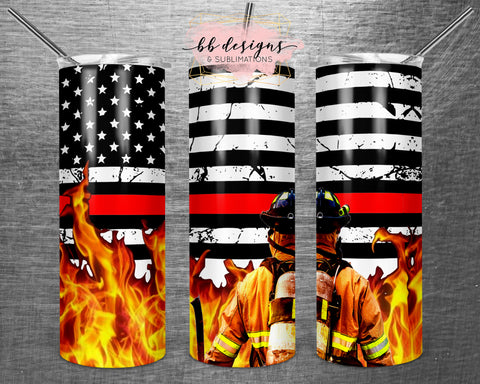 Thin Red Line Tumbler