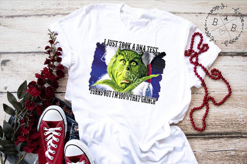 100% That Grinch Adult Tee | Christmas Design