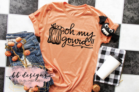 Fall Shirt | Oh my Gourd Tee | Unisex T-shirt