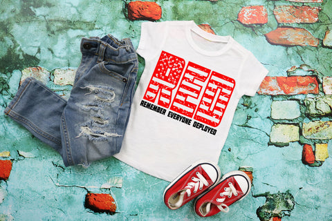 Red Friday Tee | Deployment Shirt | Military T-shirt