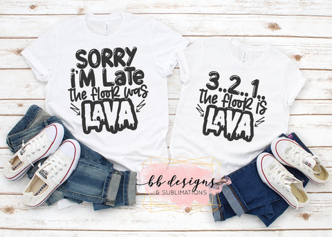 Mommy and Me Shirts | Floor is Lava