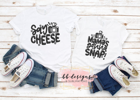 Mommy and Me Shirts | Mama's gonna snap