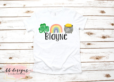 St. Patrick's Day shirt | Personalized Tee