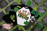 St. Patrick's Day shirt | Back Off Pinchy with background Tee