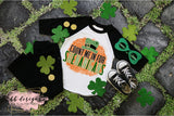 St. Patrick's Day shirt | Shenanigans with background Tee