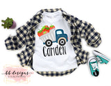 Blue Strawberry Truck Shirt | Personalized Tee | Strawberry Festival T-shirt