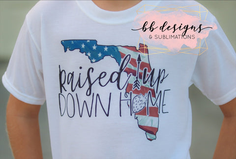 Raised Up Down Home Tee | Strawberry Shirt | Strawberry Festival