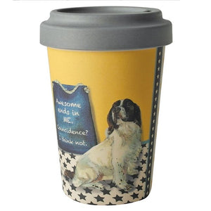 'Awesome Is Me' Bamboo Travel Cup