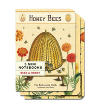 Load image into Gallery viewer, Cavallini & Co - Bees & Honey Set of 3 - Mini Notebooks
