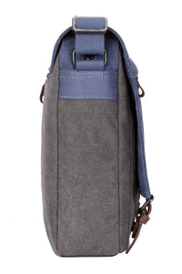 Troop London Stockholm Satchel Blue/Grey Bag