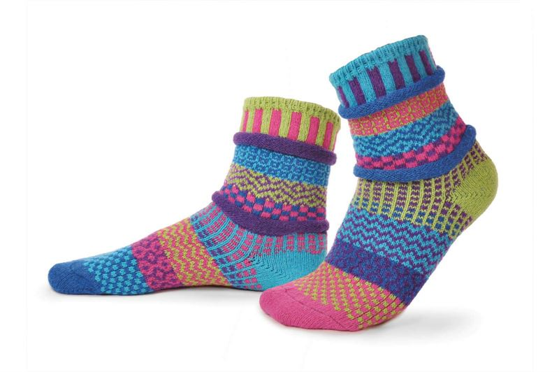 Bluebell Adult Crew Solmate Socks