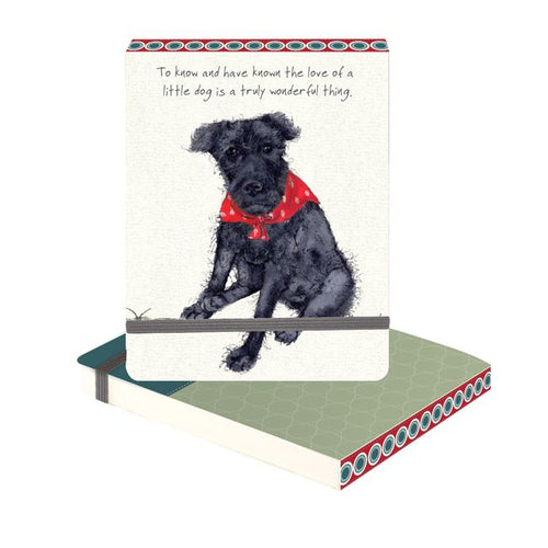 'Little Dog' Slim Notebook