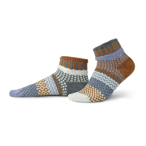 Foxtail Adult Quarter Solmate Socks
