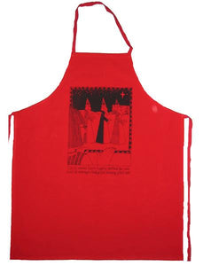 Cecily Apron - Man with pinot noir