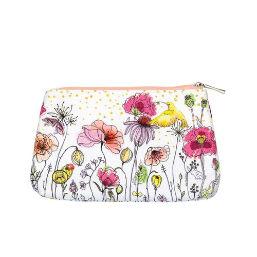 Posies Small Cosmetic Bag