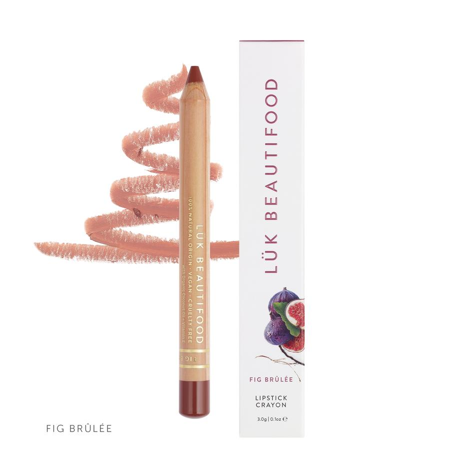 Luk Beautifood Lipstick Crayon Fig Brulee