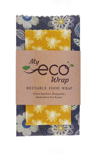 My Eco Wrap Meadow Bees - Lunch Pack