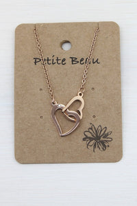 Petite Gold Love Locked Necklace