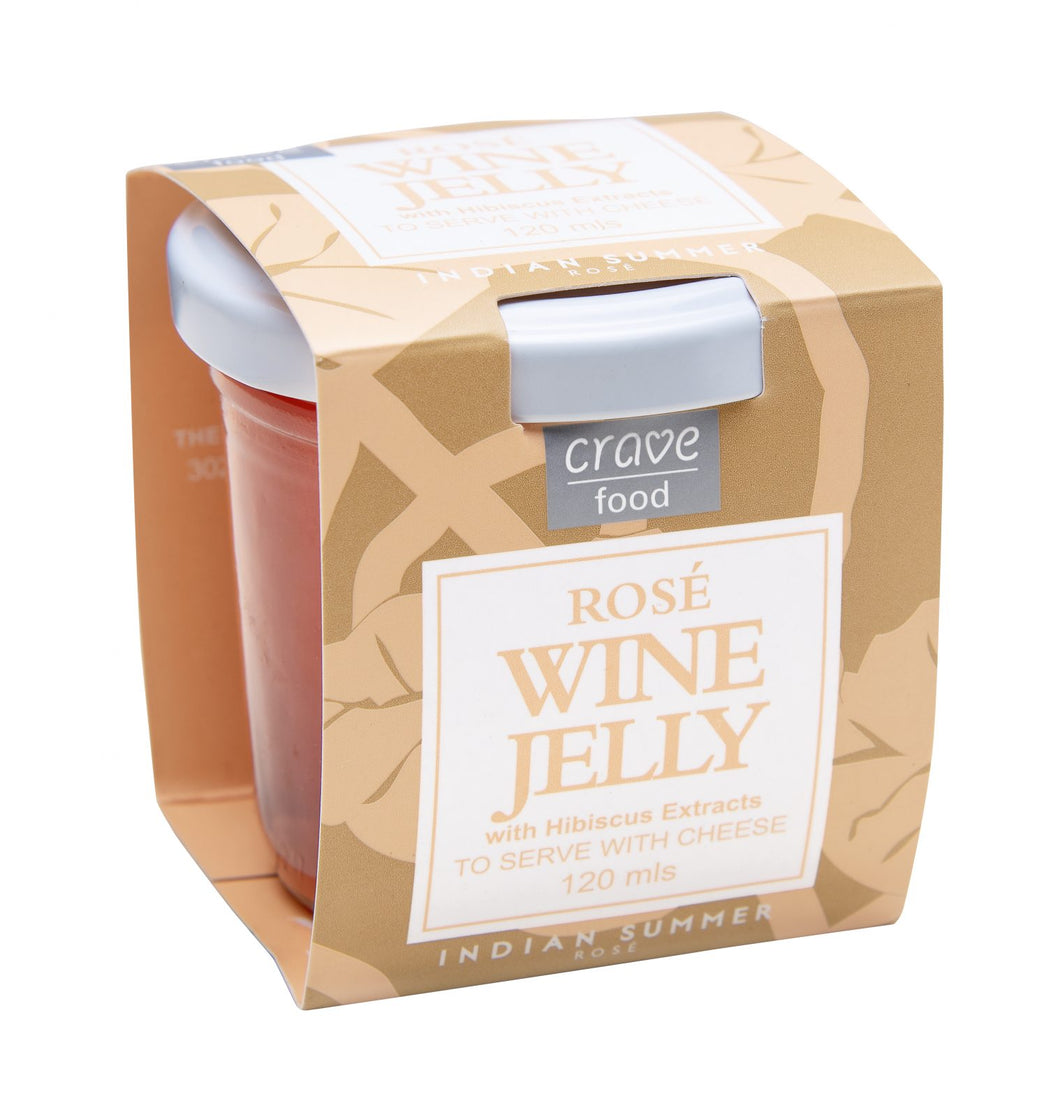 Rose Wine Jelly