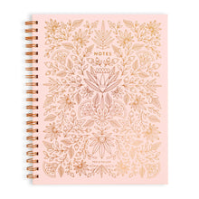 Load image into Gallery viewer, Fox & Fallow Rose Quartz Large Spiral Notebook