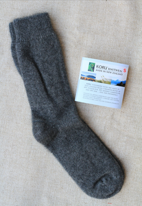 Possum, Merino Dress Sock Mid Grey