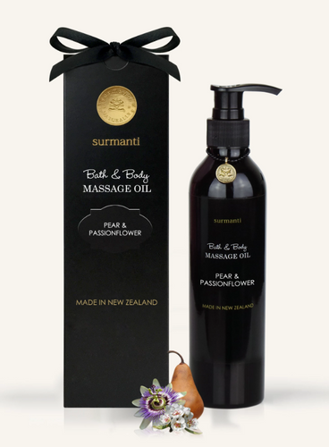 PEAR & PASSIONFLOWER BATH BODY & MASSAGE OIL