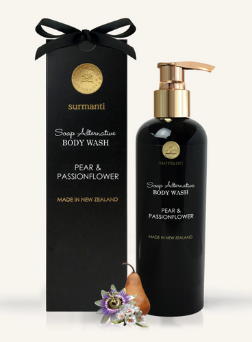 PEAR & PASSIONFLOWER BODY WASH - SOAP ALTERNATIVE 300ML