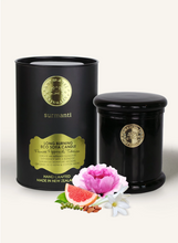 Load image into Gallery viewer, PEONIES PEPPERS & TUBEROSE LONG BURNING ECOSOYA CANDLE