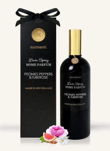 PEONIES PEPPERS & TUBEROSE LINEN SPRAY HOME PARFUM