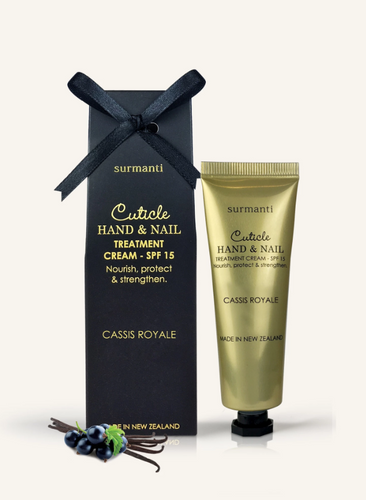 CUTICLE HAND & NAIL TREATMENT CREAM - CASSIS ROYALE BLACKCURRANT VANILLA
