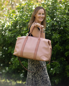 Alexis Travel Bag Nude Pink