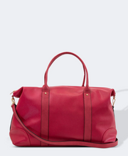 Load image into Gallery viewer, Alexis Travel Bag Raspberry