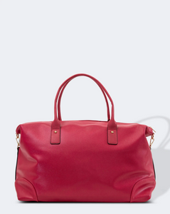 Alexis Travel Bag Raspberry