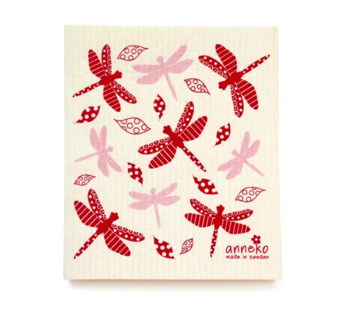 Compostable Dishcloths Dragonfly