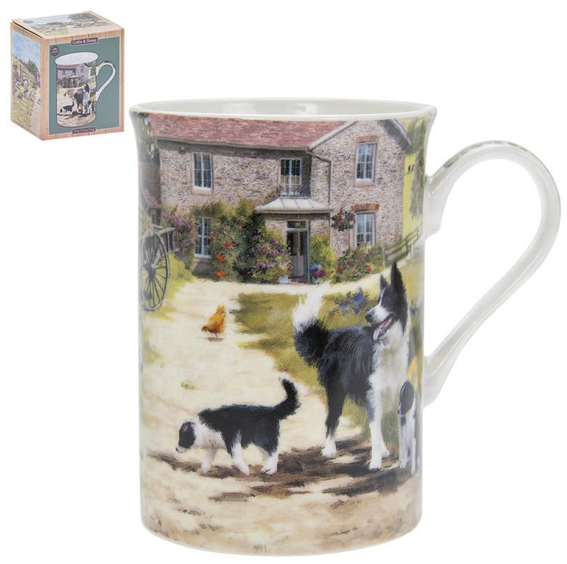 Sheep & Collie Mug