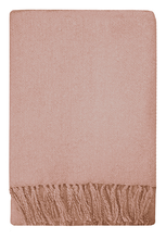 Load image into Gallery viewer, Mulberi Rhapsody Throw Dusky Pink