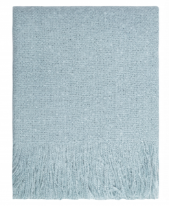 Cosy Throw Sterling Blue