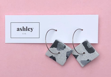 Load image into Gallery viewer, Snow Leopard Earrings