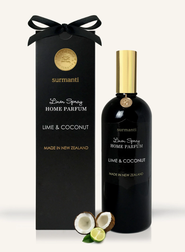 LIME & COCONUT LINEN SPRAY HOME PARFUM