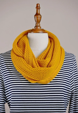 Load image into Gallery viewer, MVP Mustard Infinity Scarf
