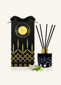 PERSIAN LIME & LEMONGRASS CRYSTAL REED DIFFUSER - ODOUR ELIMINATOR