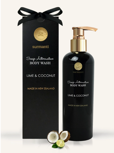 LIME & COCONUT BODY WASH - SOAP ALTERNATIVE 300ML